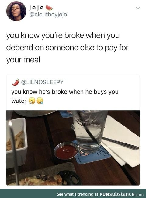 Pay for your own meal