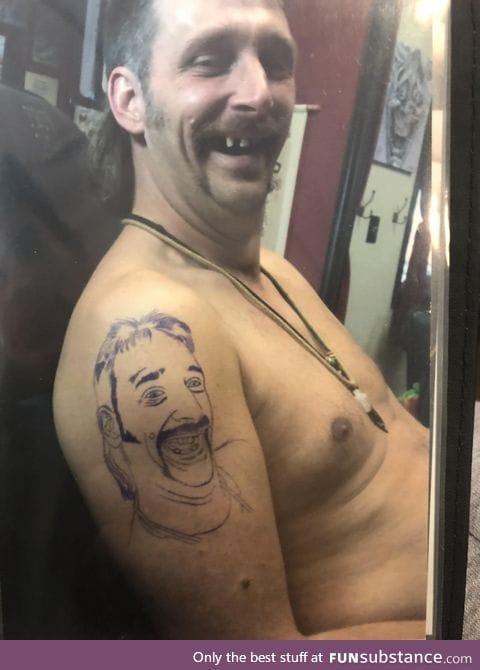 Legendary tattoo