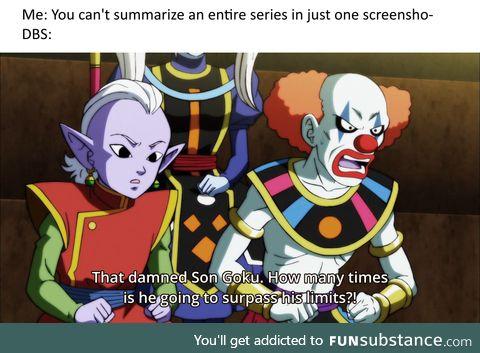 Dragon Ball in a nutshell
