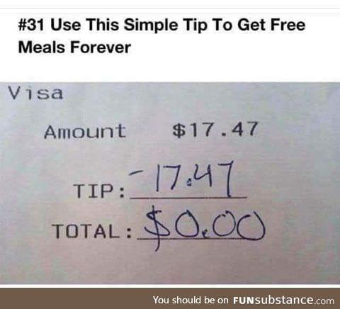 Problem, waiters?