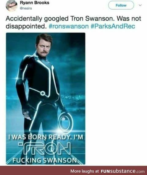 Tron Swanson the original