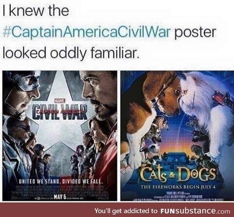 Civil War looks familiar