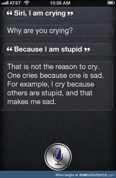 Siri is smart