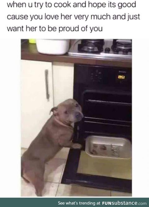 We don't deserve dogs !
