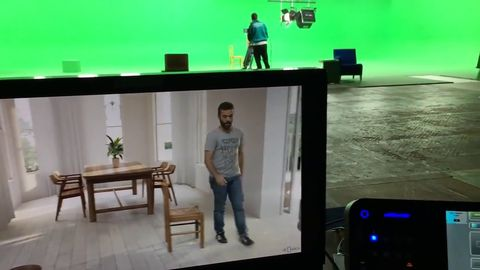 Visual Effects being Rendered in Real-Time