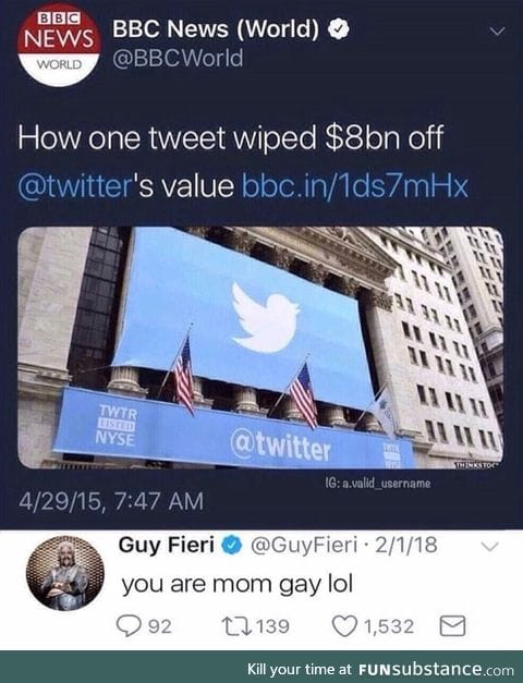The most expensive tweet