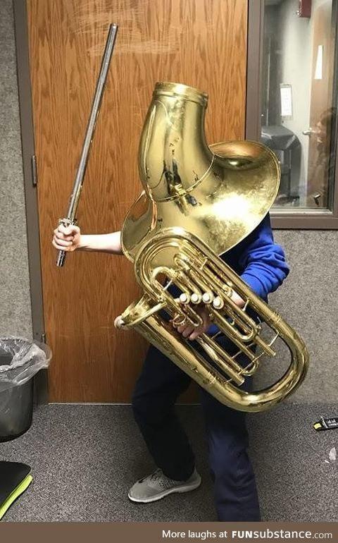 Psbattle: Tuba armor