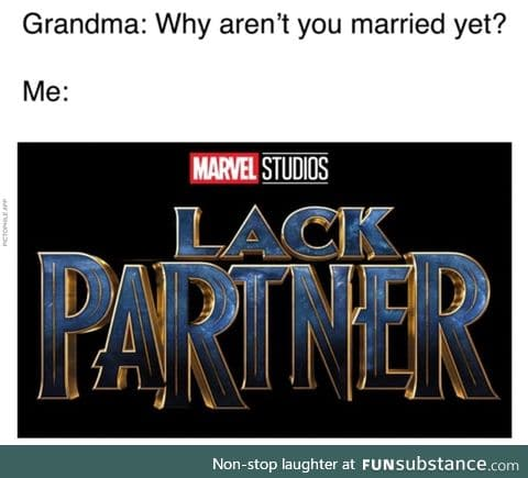 Why aren't you married