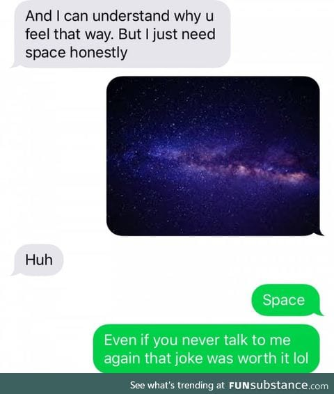 That's a big space