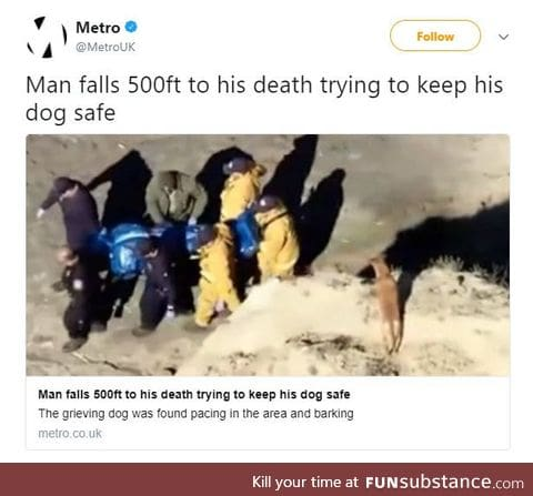 A moment of silence in respect for a true man and a true hero