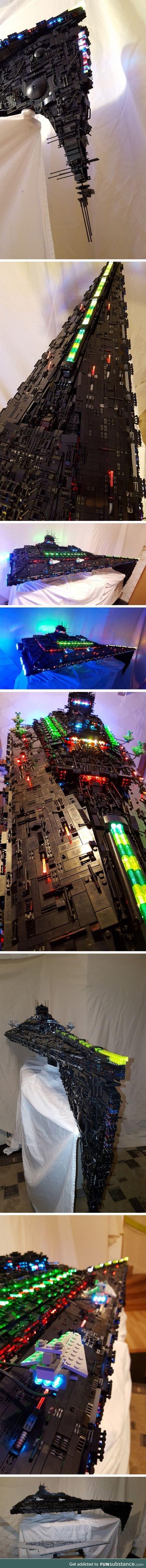 Lego: Eclipse class dreadnought