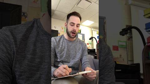 Teacher gives fake spelling test