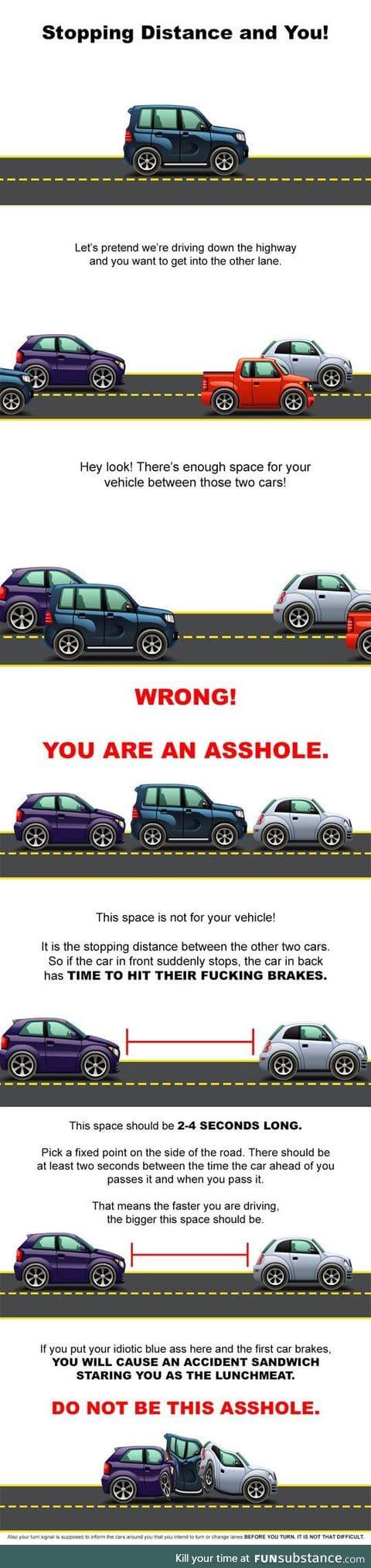 How to not drive like an ***hole