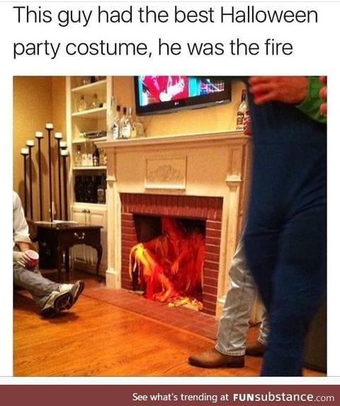 Hot Halloween costume