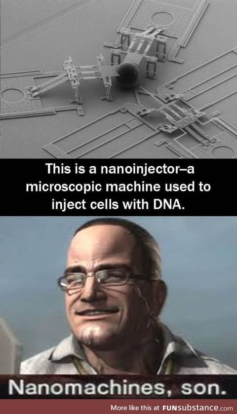 The answer is always nanomachines