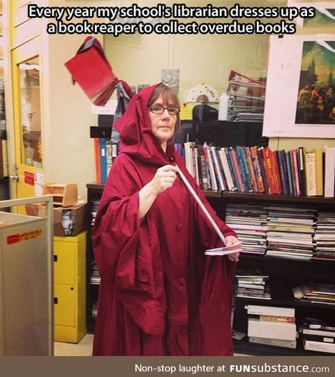 The best librarian ever