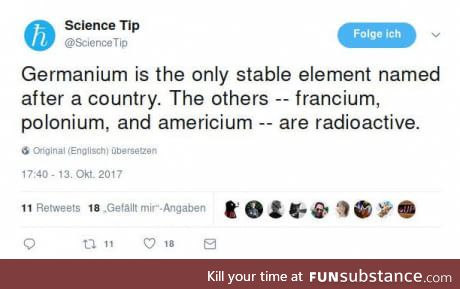 Science b*tch!