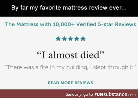 This 5 star review.