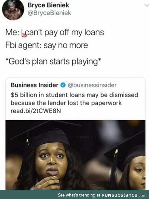 Free from debt