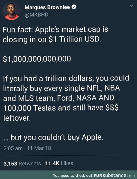 Apple is very very rich