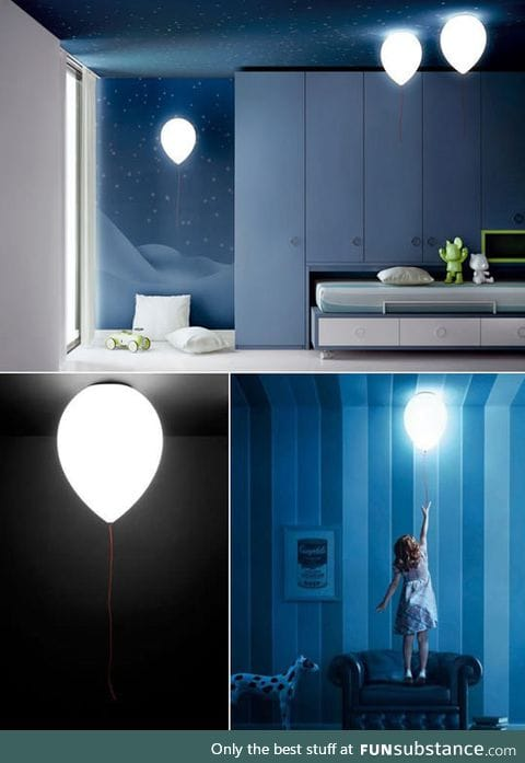 I need a balloon lamp