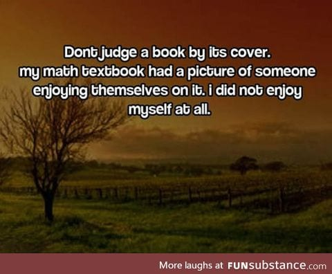 Don't Judge Books By Their Covers