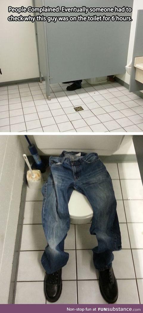 Brilliant prank at work