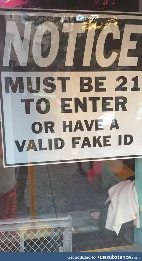 Too bad they only sell those ID's in there