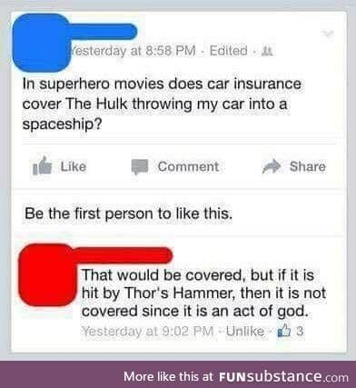Avenger? I barely even know her!