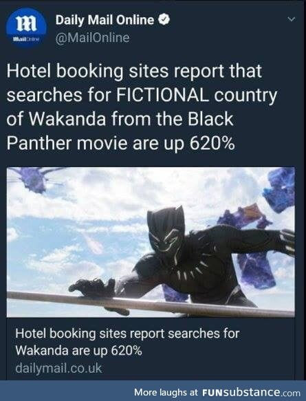 Welcome to Wakanda Airlines