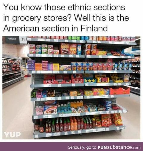 """Ethnic"" section in Finland"