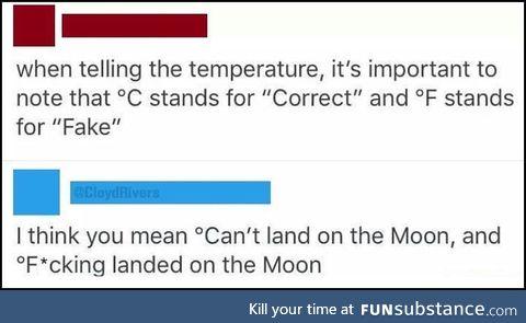 Fahrenheit vs celcius