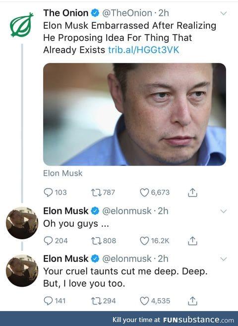 Elon Musk gets swindled