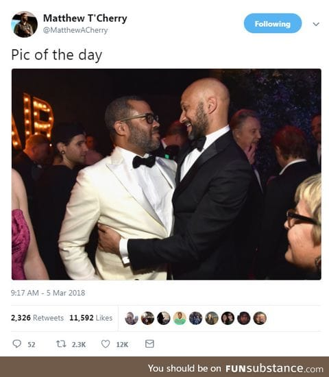 Find someone who holds you the way Key holds Peele
