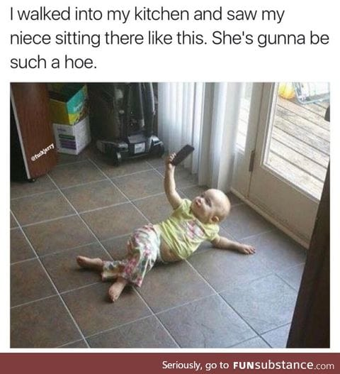 Born a hoe