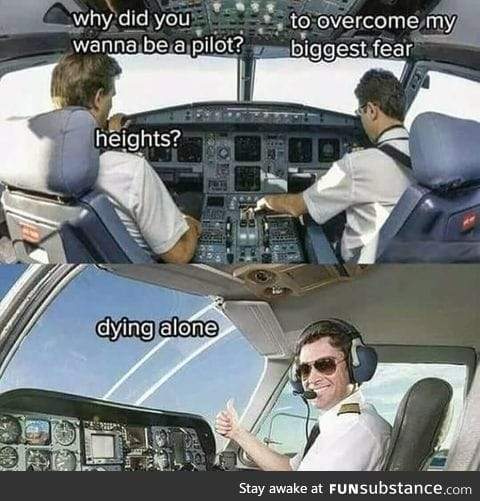 Reason for becoming a pilot