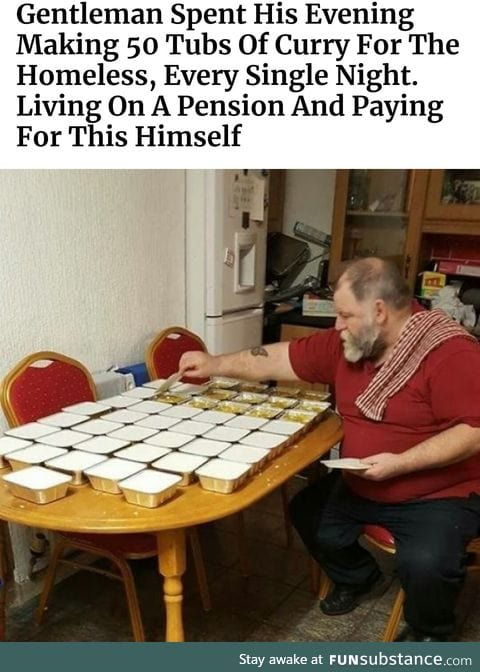 How does he afford it?