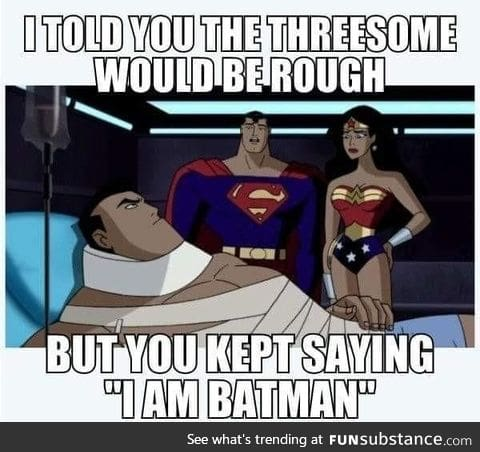 Batman got no chills