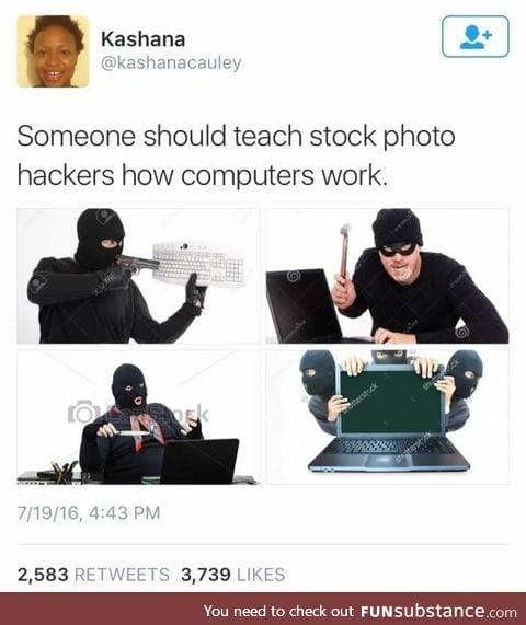 Fake hackers