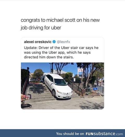 Uber said so