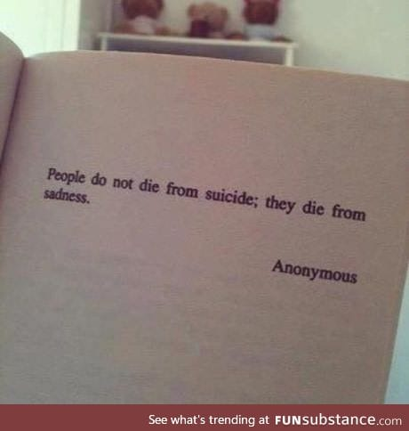 I'm pretty sure they died by killing themselves