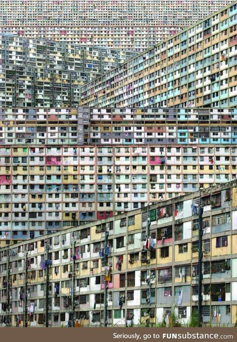 Vertical slums - caracas, venezuela