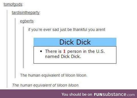 I present..d*ck d*ck