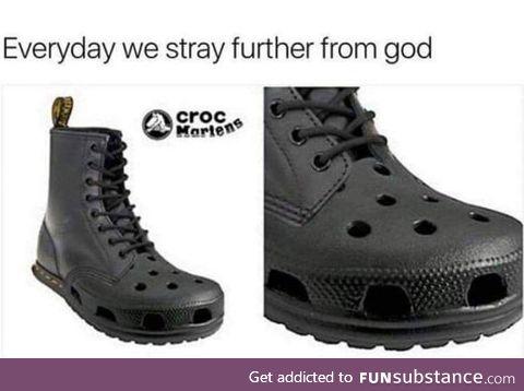 Evil shoes