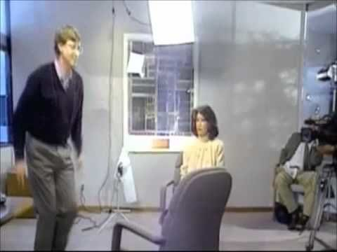 That time in 1994 when Bill Gates jumped over a chair for Connie Chung