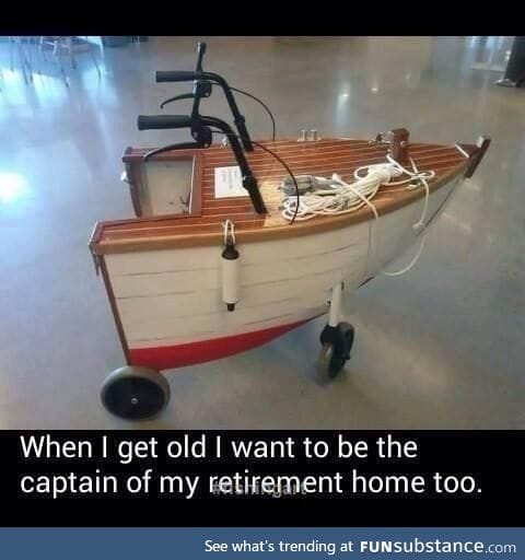 When I get old