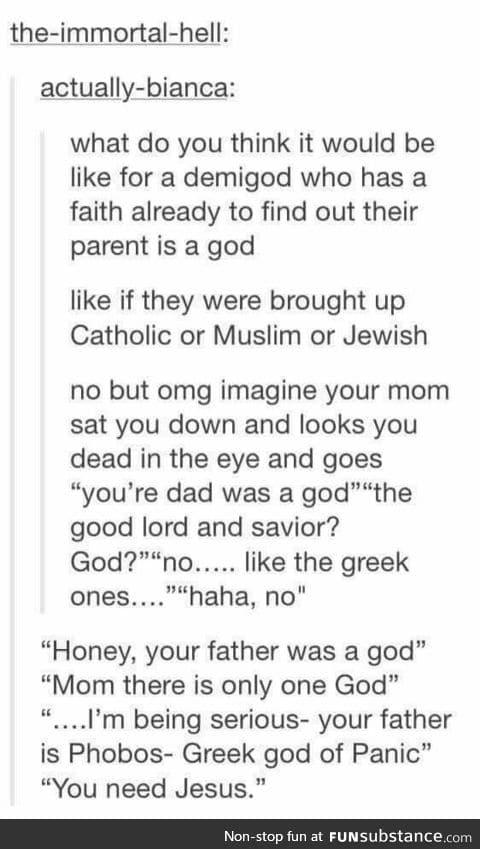 Heretic!