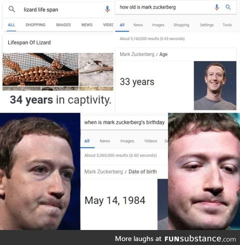 Mark Zukerberg is dying soon