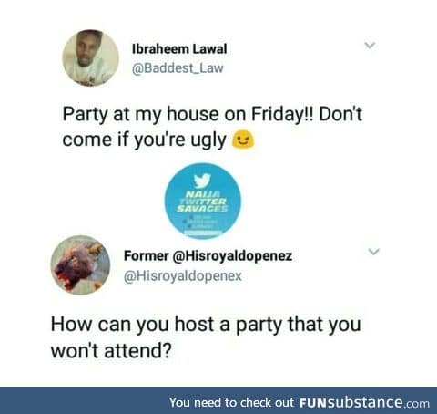 Kicked out of his own party