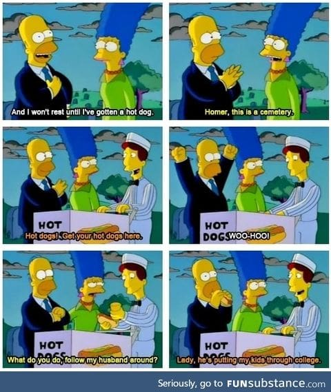 Homer is such a good guy